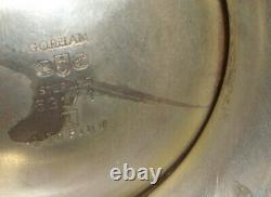 10 Vintage Gorham Sterling Silver water pitcher 531/1 4 7/8 pint 1020gr