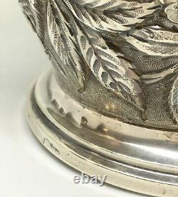 1905 Schofield Co. Baltimore Rose Pattern Sterling Water Pitcher 733g heavy
