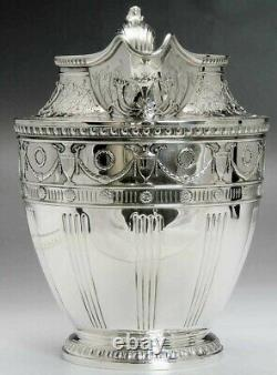 1915 Ornate Whiting Sterling Silver Water Pitcher 84 fl. Oz Huge Size