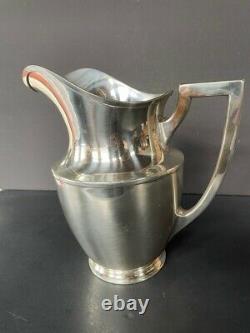 925 Sterling Silver 5 Pints Water/lemonade Pitcher