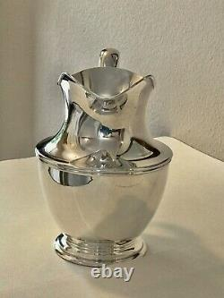 American, Shreve & Co, Early 20th Century Sterling Silver Water Pitcher