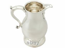 American Sterling Silver Beer/Water Jug George I Style Antique Circa 1920