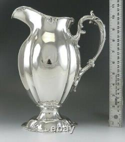 Antique 1898 Gorham Sterling Silver Large Heavy Water Pitcher NO MONO 11 1,141g