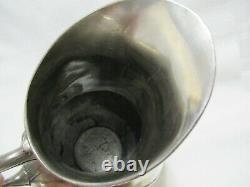 Antique Art Nouveau Wmf Silverplate Pair Water Wine Pitchers Jugs 8.50