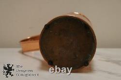 Antique Ca. 1880 Derverlea Dovetailed Copper Jug Pitcher England Water Milk Can