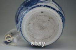 Antique Chinese 18th Century Export Porcelain Canton Water Pitcher Jug
