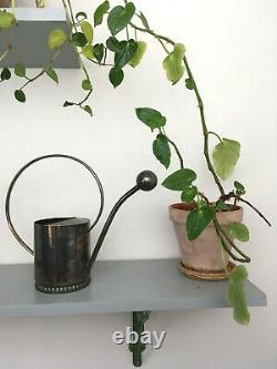 Antique Early Mid Century Plant Flower Orchid Silver Watering Can Spout, Denmark