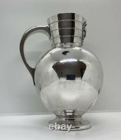 Antique Martin Hall & Co Silver Plated Wine / Water Ewer / Jug Late 19th Century