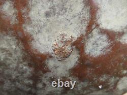 Antique Primitive Pitcher Water Jug Brass & Hammered Copper Bell-Shaped 16x11