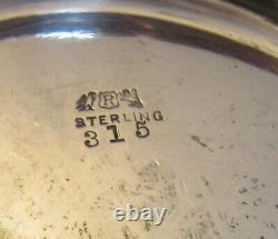 Antique Reed & Barton STERLING SILVER WATER PITCHER #315 tall 9 mono 529g