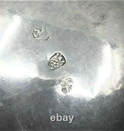 Antique Repousse Sterling Silver Water Pitcher Cherubs Angels hallmarked ornate