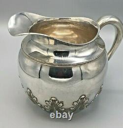 Antique Shreve, Crump & Lowith Goodnow & Jenks Sterling Silver Water Pitcher