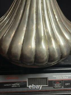 Antique marked LARGE 900 coin SILVER WINE Water PITCHER 1000 Grams Server $674+