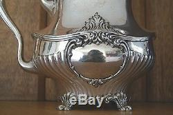 Beautiful Black Starr & Frost Sterling Silver Water Pitcher No Monogram