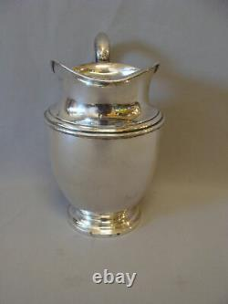 Beautiful Solid Sterling Silver Large Water Pitcher by Preisner Style 125