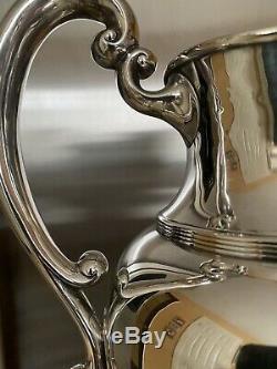 Bigelow Kennard Antique Sterling 5 Pint Water Pitcher Hand Crafted