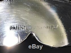 C1872 Jas. Stimpson Victorian Silverplate Ice Water PitcherOrnate Design withFace