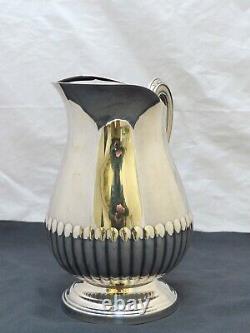 CHRISTOFLE MARLY Silverplated 10 Large Water Orangeade Pitcher Jug Broc eau #3