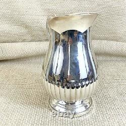 Christofle Silver Plated Water Pitcher Wine Jug LARGE 3.5 Pints 2 Litres 2000ml