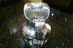 Cohr Sterling Silver Water Pitcher