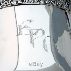 Coronation Water Pitcher Community Silverplate 1936 Mono