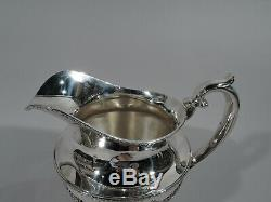 Durgin Empire Water Pitcher 134 Antique Regency American Sterling SIlver