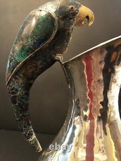 Emilio Castillo Mexican Silver Plate Water Pitcher-Imperfect