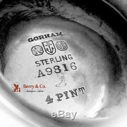 Etruscan Water Pitcher Sterling Silver Gorham 1925