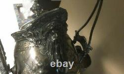 Exquisite Meriden B. Company water pitcher (the best one on eBay!) with Neptune