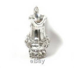 Fabulous silver water pitcher (jug). USA, Gorham, 20th century