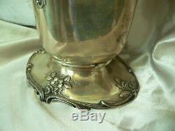 Fine GORHAM STERLING Silver WATER PITCHER Rose design 4 Pints NO. 2020 39 ozt
