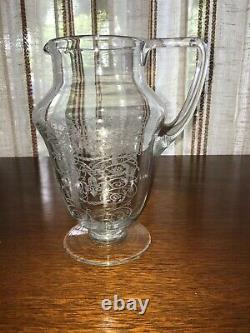 French Crystal BACCARAT MICHELANGELO PITCHER WATER JUG