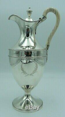 Georgian Solid Silver Wine / Claret / 1770's Water Jug or George III Ewer
