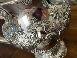 Gorgeous Huge 1956 Gorham Chantilly Sterling Silver Grand Water Pitcher 1205 Gms