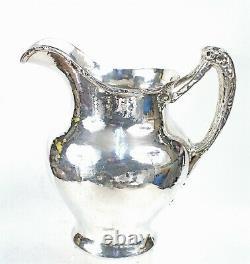 Gorham 1911 Hammered Finish Arts & Crafts Sterling Water