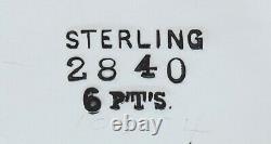 Impressive Antique c1900 Starr Sterling Silver Water Pitcher 96oz/2.8L