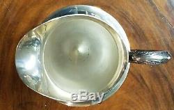International WEDGWOOD 4-1/2 Pints Sterling Silver WATER PITCHER No Monogram