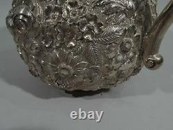 Jacobi & Jenkins Water Pitcher 284 Antique American Sterling Silver