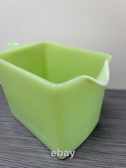 Jeannette Glass Co Jadite / Jadeite / Jade-ite Ice Box Jug (Water Pitcher) #2