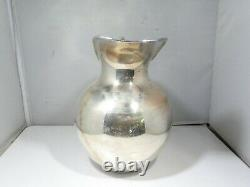 Large Camusso Sterling Silver Water Pitcher 18.05 Troy Ounces