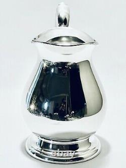 Marvelous Vintage Bristol Silver Plated Water Pitcher/ Jug