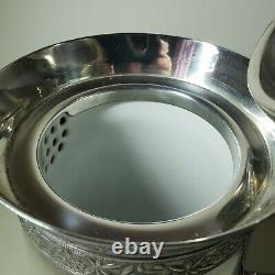 Meriden Britannia Aesthetic Movement Silver Plate Water Cooler Pitcher #193 1868