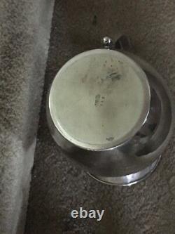 Mfh 925 Sterling Silver Water/lemonade Pitcher