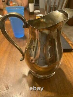Newport Sterling Silver Water Pitcher (27.6 oz)