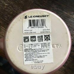 No Box Very Rare! Le Creuset Water Jug Pitcher Large Size Pink Unused
