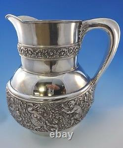 Olympian Cupid by Tiffany & Co. Sterling Silver Water Pitcher Figural #0009