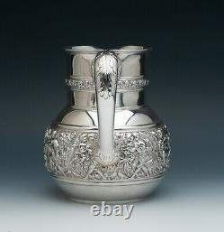 Olympian by Tiffany & Co. Sterling Silver Water Pitcher 7.25 tall, 4.25 pint