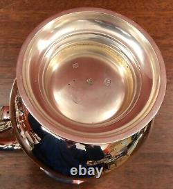 Outstanding large silver water jug. C. J. Vander London 1969 36.7 Ounces