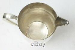 Paul Revere Reproduction by Poole 7 Sterling Silver Water Pitcher Jug 20.7oz