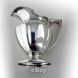 Plymouth Water Pitcher Sterling Silver Gorham Silversmiths